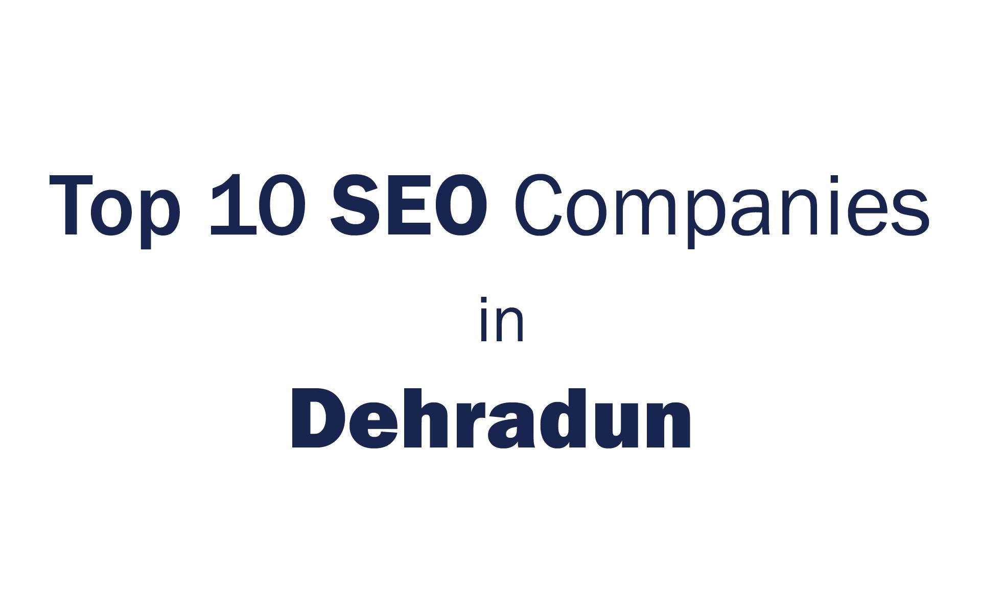 top seo companies in dehradun