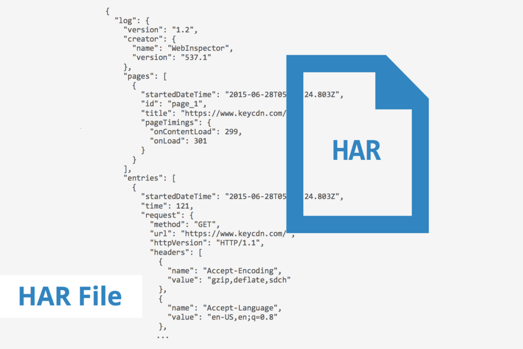 how to generate HAR file
