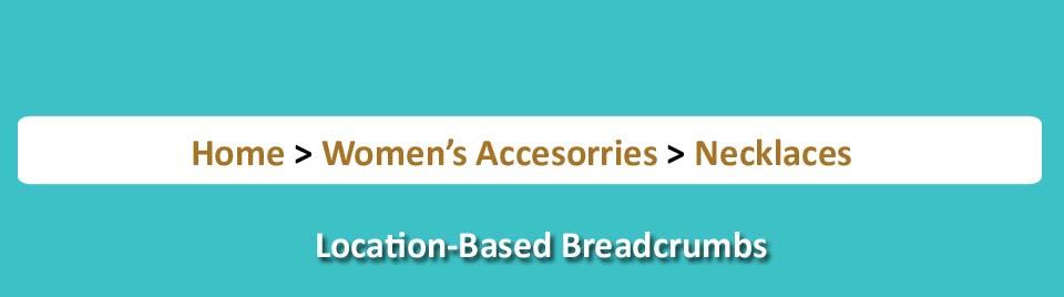 location based breadcrumbs
