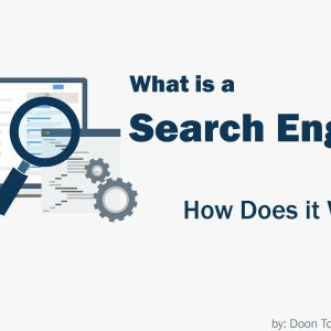 what is a search engine written with a search box